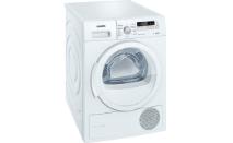 Siemens iQ700 WT46W261 iSensoric Wärmepumpentrockner A++ 8 kg Weiß Selbstreinigender Kondensator softDry-Trommelsystem Super40 [Energieklasse A++]