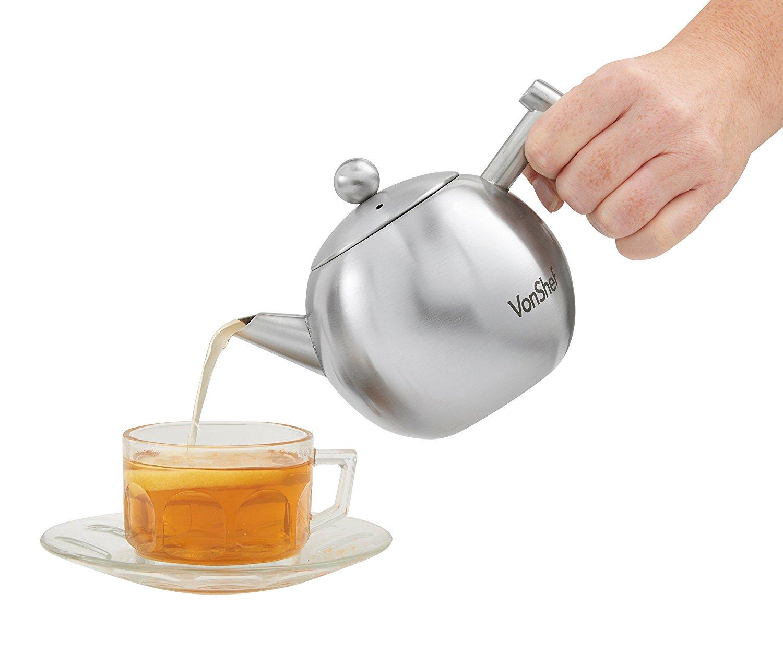 Edelstahl Teekanne kaufen