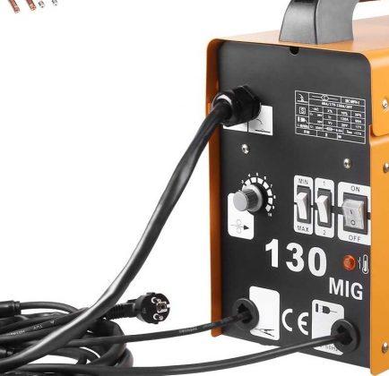 MVPOWER Elektrodenschweißgerät (Trafo-Schweißgerät) MIG130 im Test