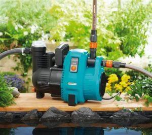 Produktbeschreibung derGardena Comfort Gartenpumpe 50005
