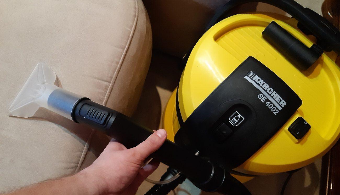 Kärcher SE 4002 Waschsauger mit Waschdüse - Sofareinigung Test
