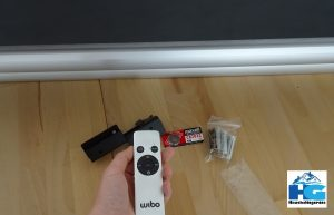 Luftreiniger von wiBio mit Fernbedienung im Test
