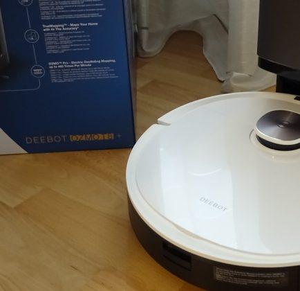 Saugroboter DEEBOT OZMO T8+ mit Absaugstation im Test