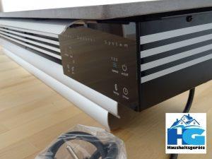wiBio Luftreiniger im Test - Mit Standfuß oder als Wandaufhängung