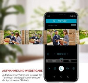 Alternativen zur Victure 1080P Outdoor WLAN IP Überwachungskamera