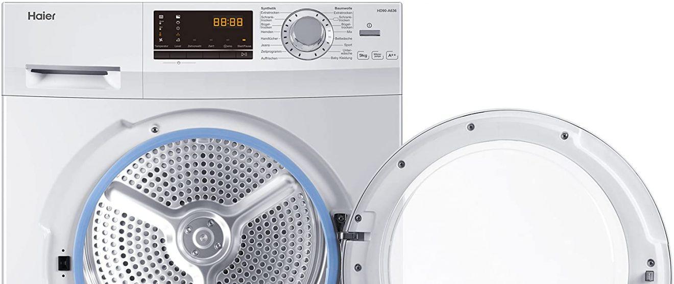 Haier HD90-A636 Wärmepumpentrockner im Test-Vergleich