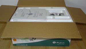 Pepeo Raja Deckenventilator Test Verpackung und Lieferung