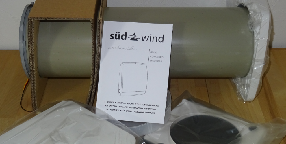 SUEDWIND Ambientika advanced+ dezentrale Wohnraumlüftung im Test