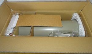 Verpackung und Lieferung der SUEDWIND Ambientika ADVANCED+ Wohnraumlüftung im Test